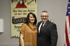 Councilman Knapp with his wife Andrea