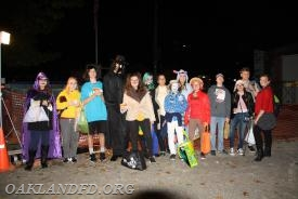 Our largest group of Trick 'r Treaters