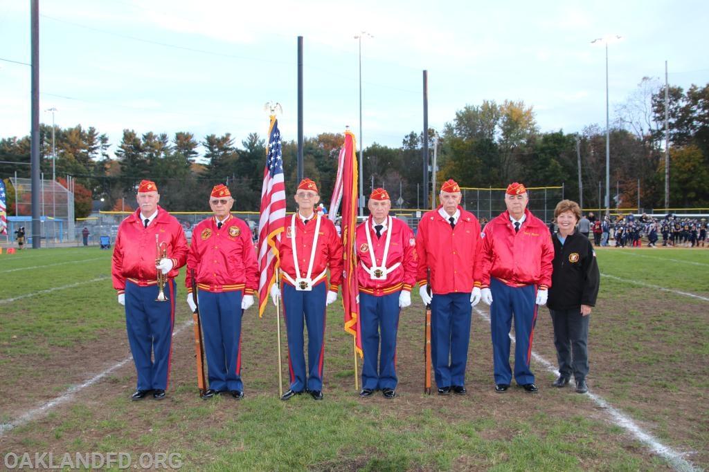 Marine Corps Lakeland Detachment 744 with Oakland Mayor Linda Schwager